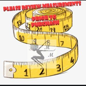 😊Worried about Fit? Check The Measurements 1st😊
